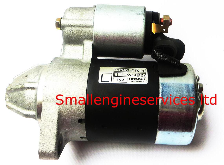 Yanmar starter motor L series